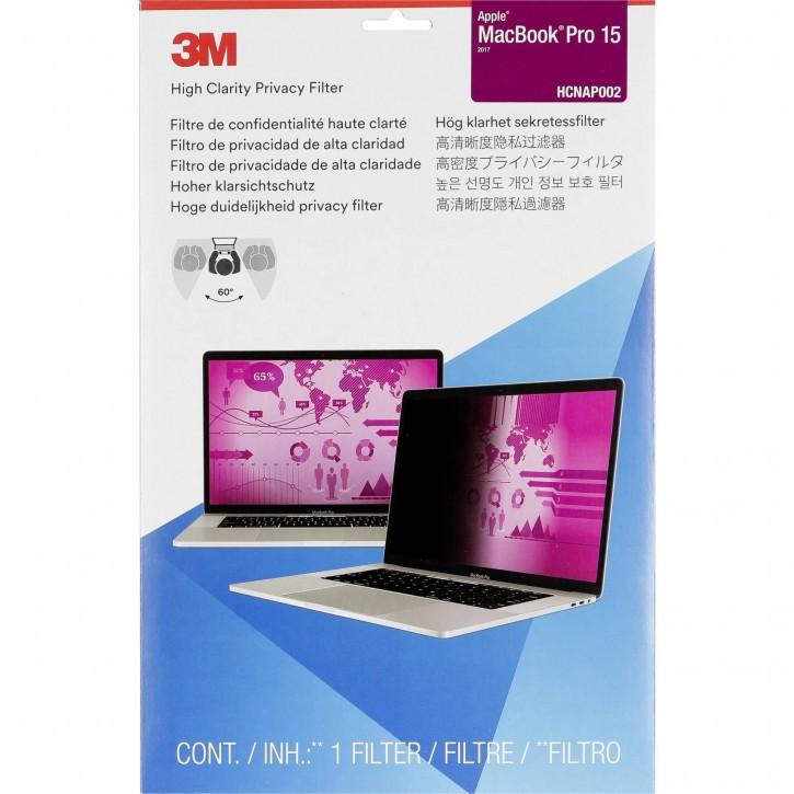 3M HCNAP002 Blickschutzfilter High Clarity f MacBook Pro 15