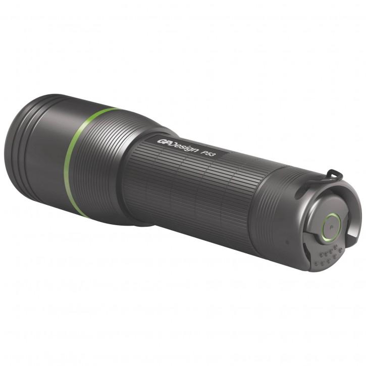 GP Design P53 Bellatrix 300 lm, Focus,3AAA, IPX4