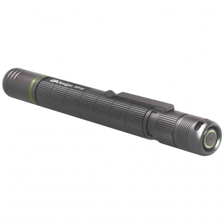 GP Design PP16 Acamar Penlight, 140 Lumen, 2AAA