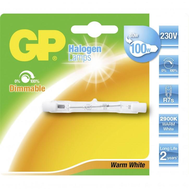 GP Lighting Halogenstab R7S 80W (100W) 78mm            GP 070771