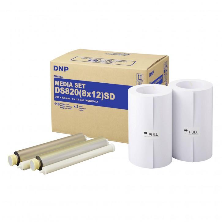 DNP DS 820 SD Media Kit 20x30 cm 2x 110 Prints