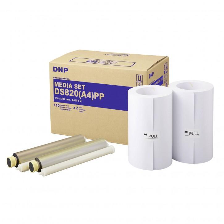 DNP DS 820 PP Media Kit A 4 2x 110 Prints
