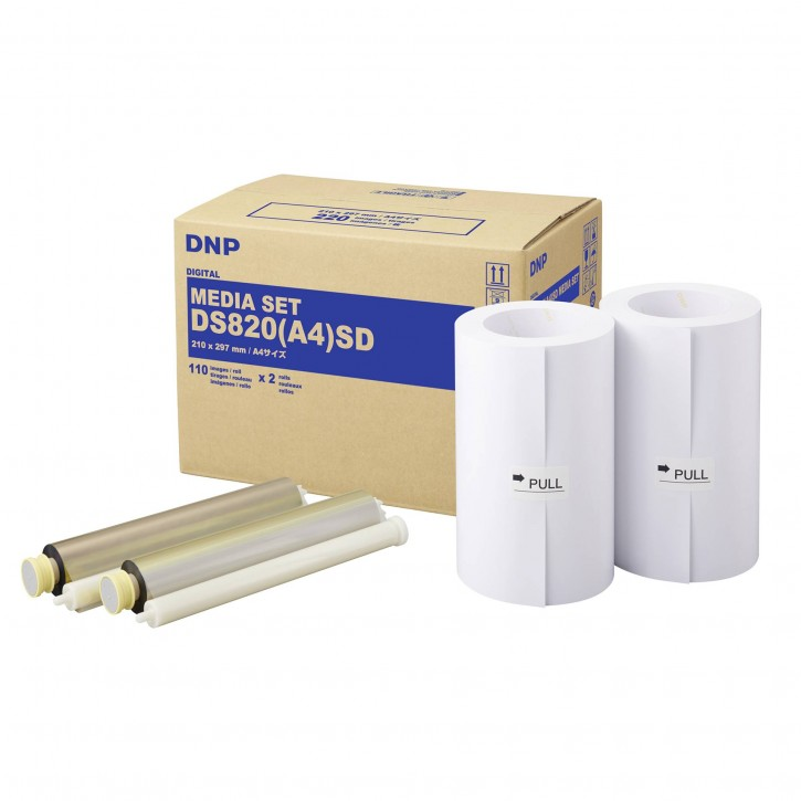 DNP DS 820 SD Media Kit A 4 2x 110 Prints