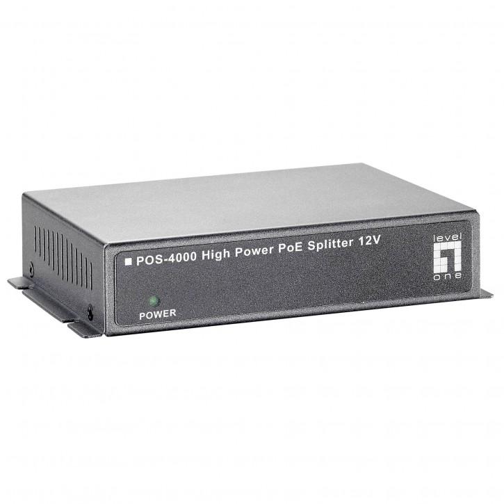 Level One POS-4000 High-Power PoE Splitter