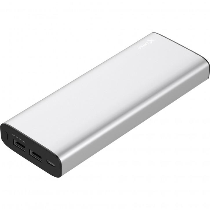 Xlayer Powerbank PLUS MacBook silver 20100 mAh