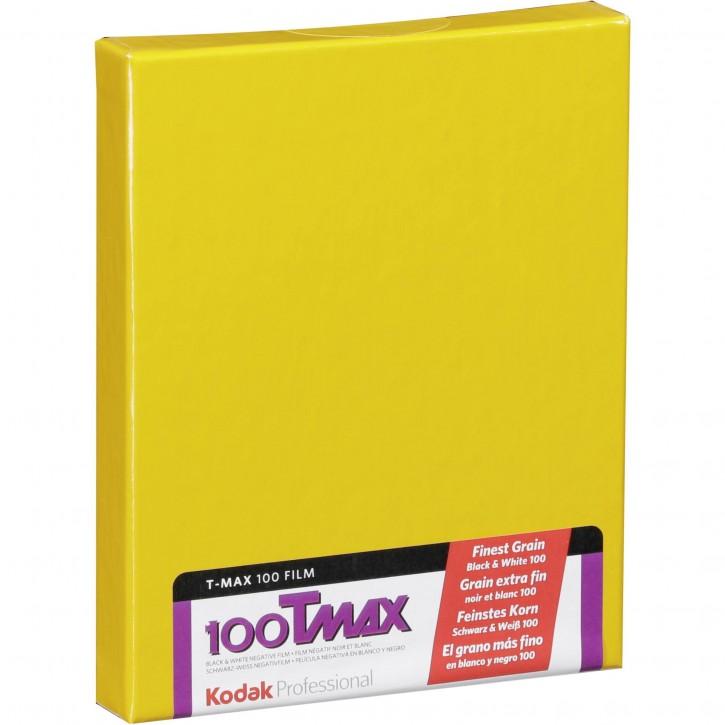 "1 Kodak TMX 100         4x5"" 10 Blatt"