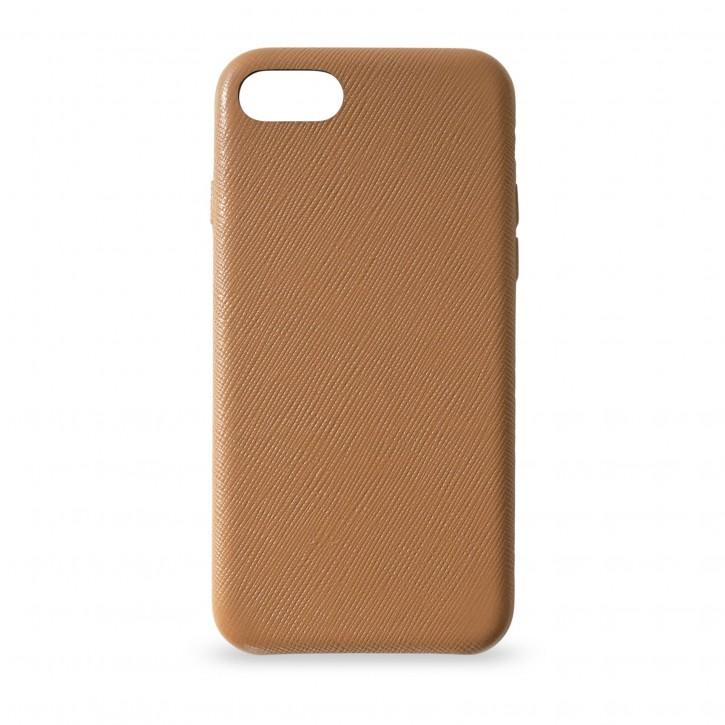 KMP Leather Case iPhone SE 2020/8/7 Braun