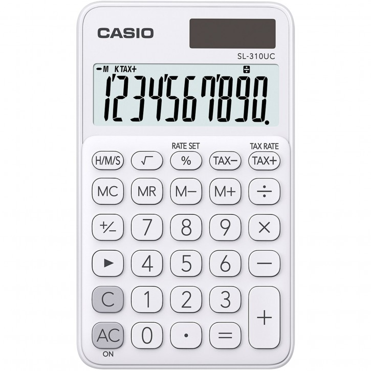 Casio SL-310UC-WE weiß