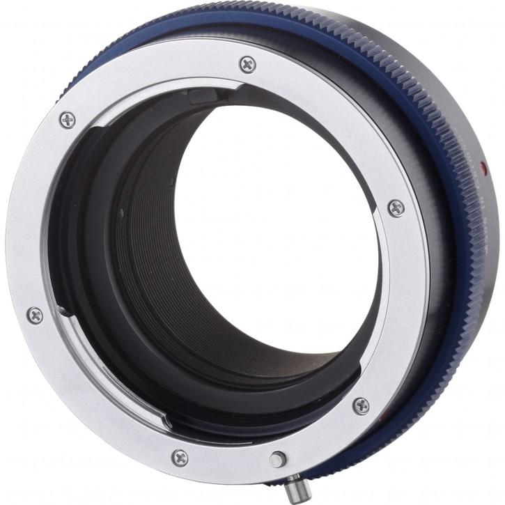 Novoflex Adapter Nikon F Objektiv an MFT Kamera