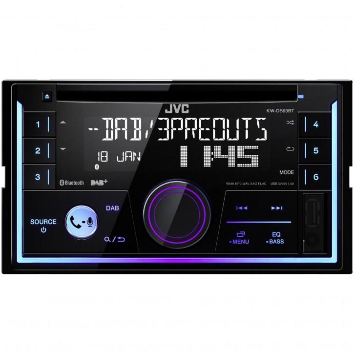 JVC KW-DB93BT inkl. DAB-Antenne