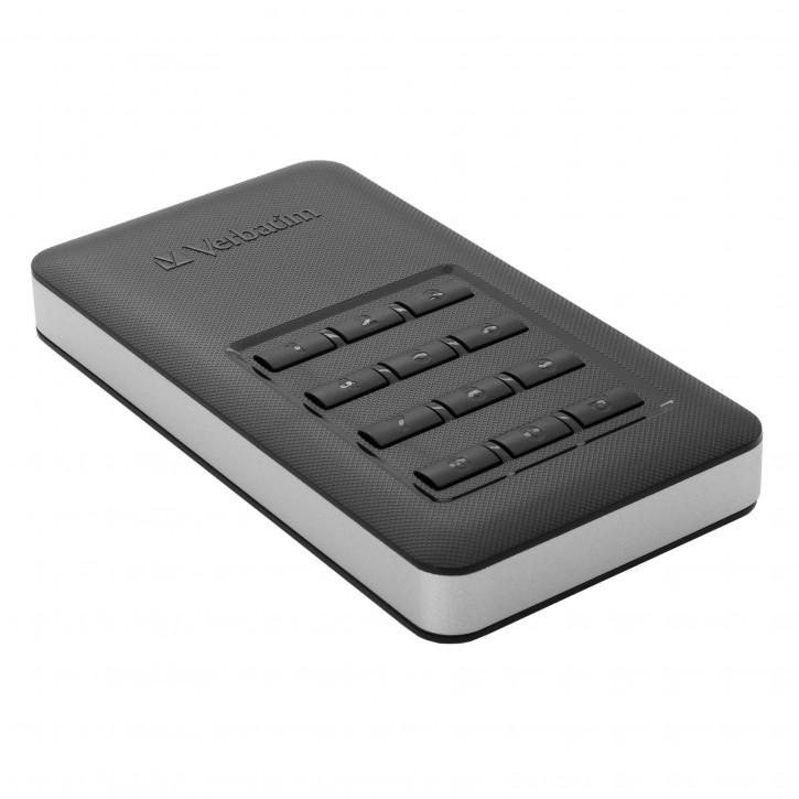 Verbatim Store n Go        256GB Secure Portable SSD USB 3.1