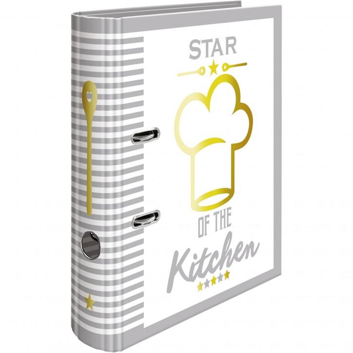 "Herma Rezepte-Ordner ""Star of the Kitchen"" DIN A4        15415"
