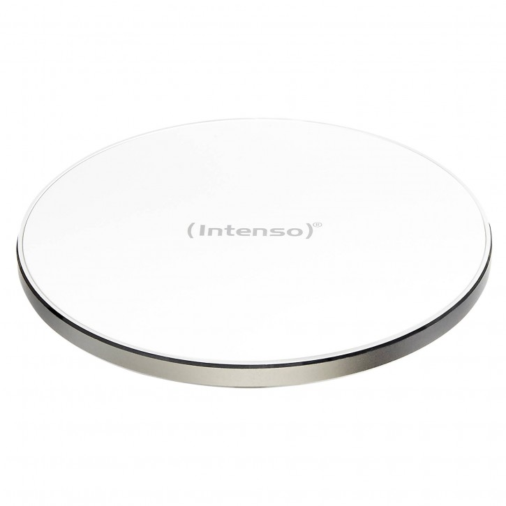 Intenso Wireless Charger QI incl Fast Charge Adapter weiss