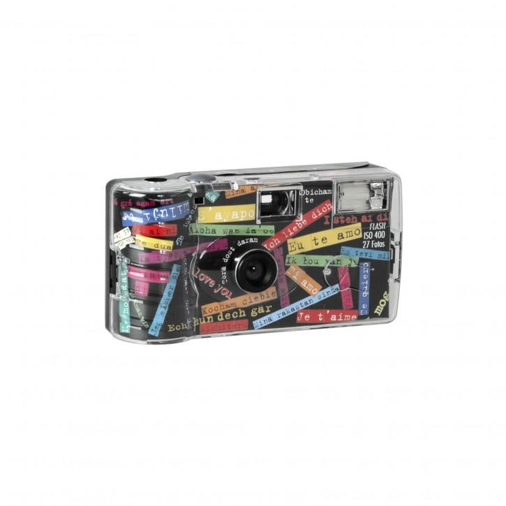 "Single use Kamera Flash 400 27 I mog di"" schwarz"