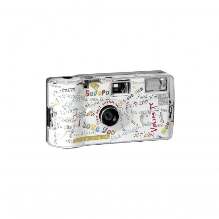 "Single use Kamera Flash 400 27 I mog di"" weiß"