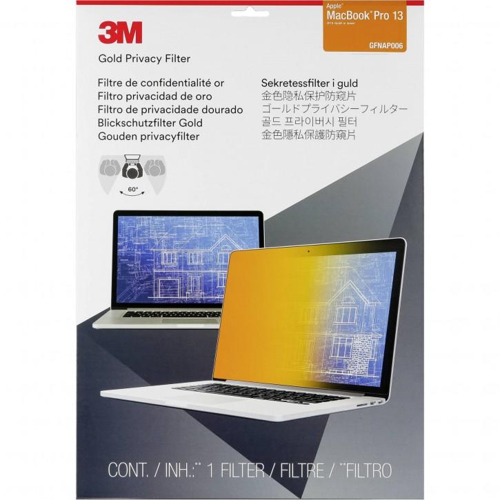 "3M GFNAP006 Blickschutzfilter Gold f MacBook Pro 13"" ab 2016"