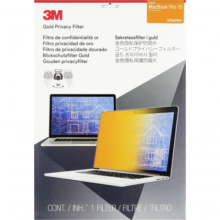"3M GFNAP007 Blickschutzfilter Gold f MacBook Pro 15"" ab 2016"