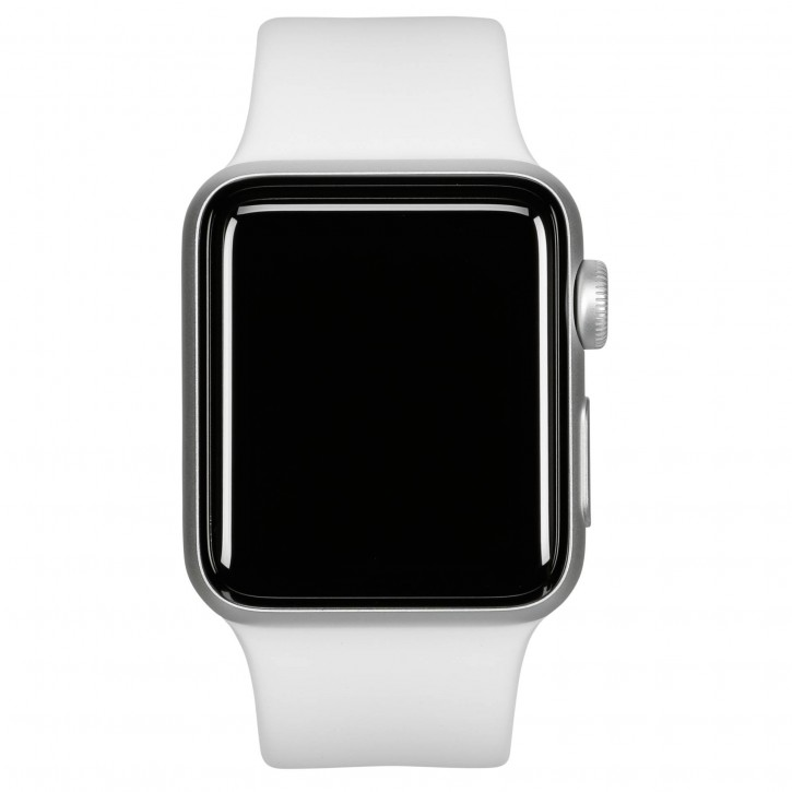 Apple Watch Series 3 GPS 38mm Silver Alu White Sport Band