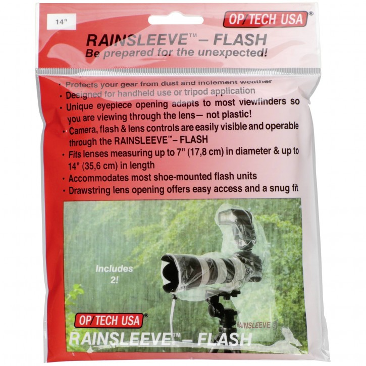 1x2 OP Tech Rain-Sleeve Flash
