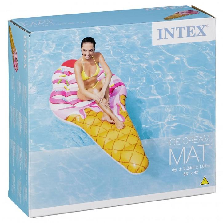 Intex Luftmatratze Eis aufblasbar