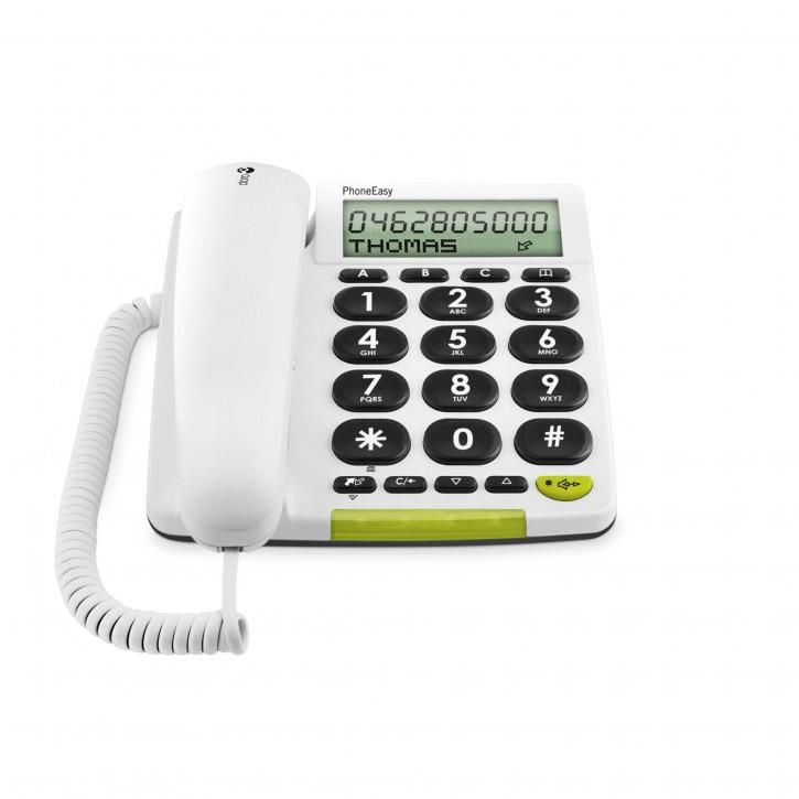 Doro PhoneEasy 312cs weiß