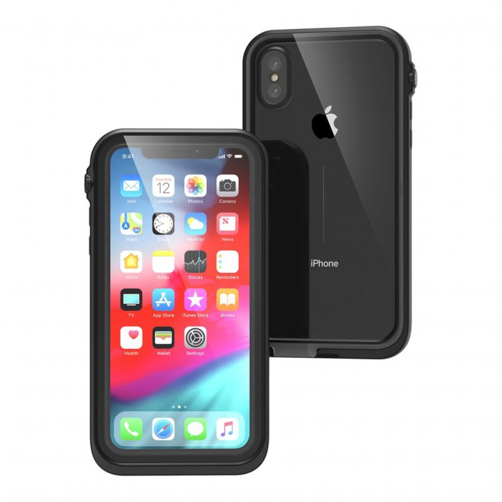Catalyst Waterproof Case for iPhone XS stealth black