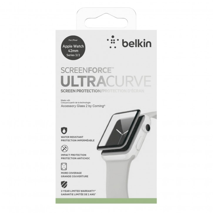 Belkin Ultra Curve Displayschutz Apple Watch 42mm S.2/3  F8W918vf