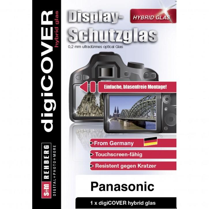digiCOVER Hybrid Glas Display Schutz Panasonic DMC GX80 GX9