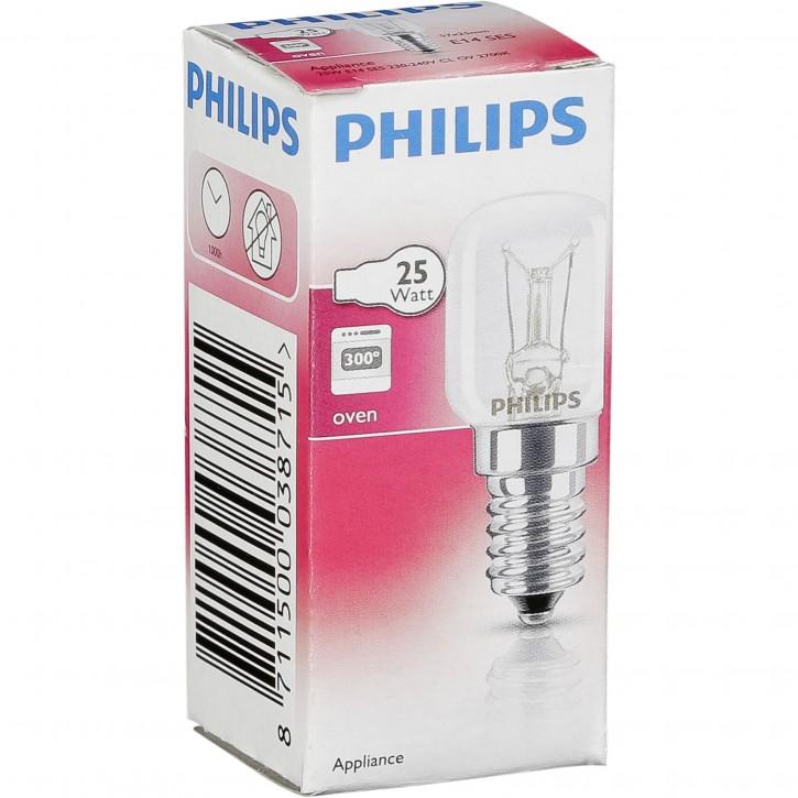 Philips Backofenlampe T22 E14 25W für Backofen