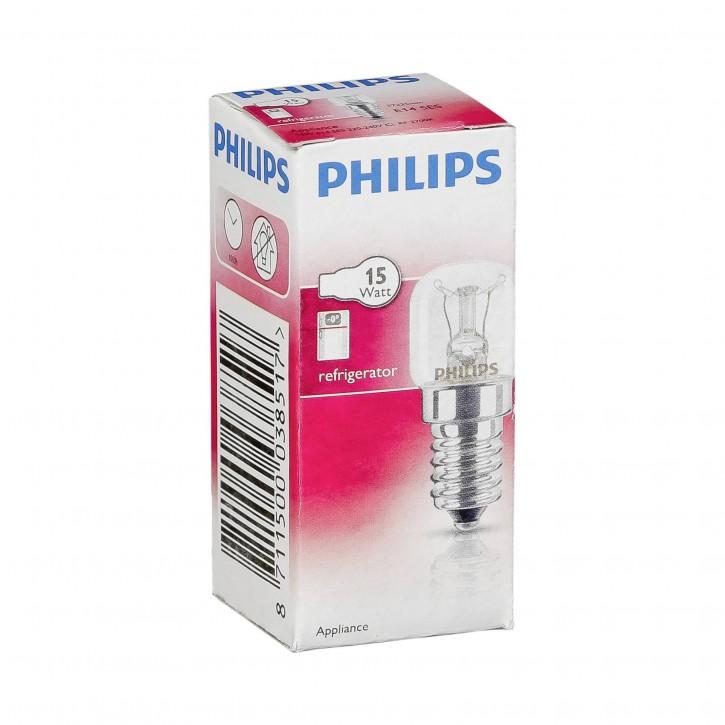 Philips Kühlschranklampe T25 E14 15W für Kühlschrank