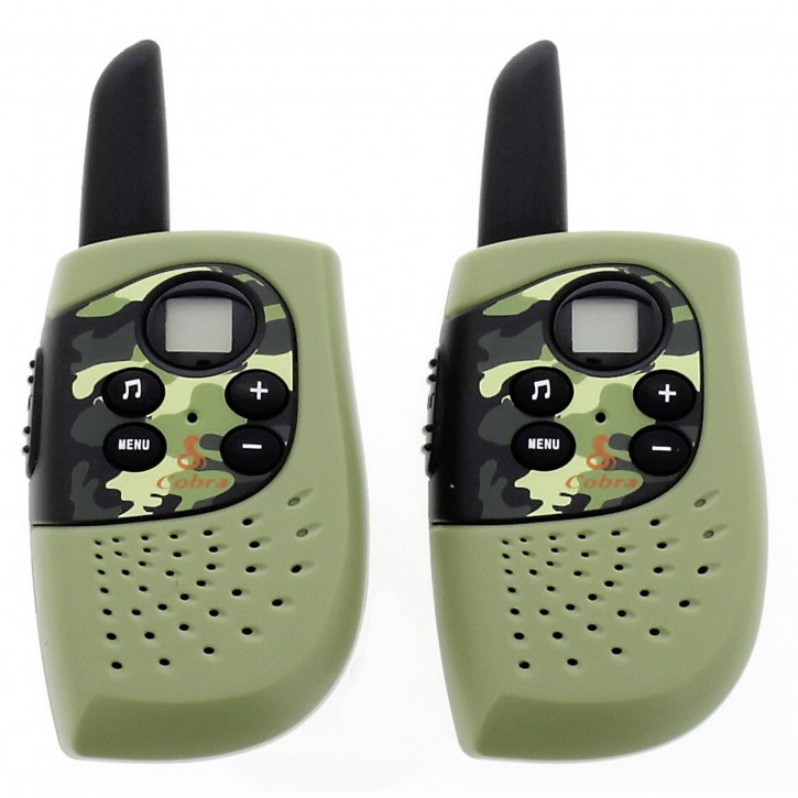 Cobra HM 230 Walkie Talkie Armee (grün)