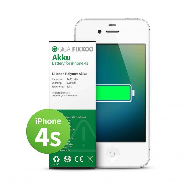 GIGA Fixxoo iPhone 4s Akku