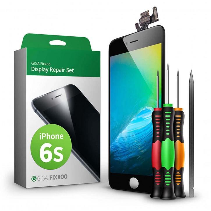 GIGA Fixxoo  iPhone 6s Display Komplettset schwarz