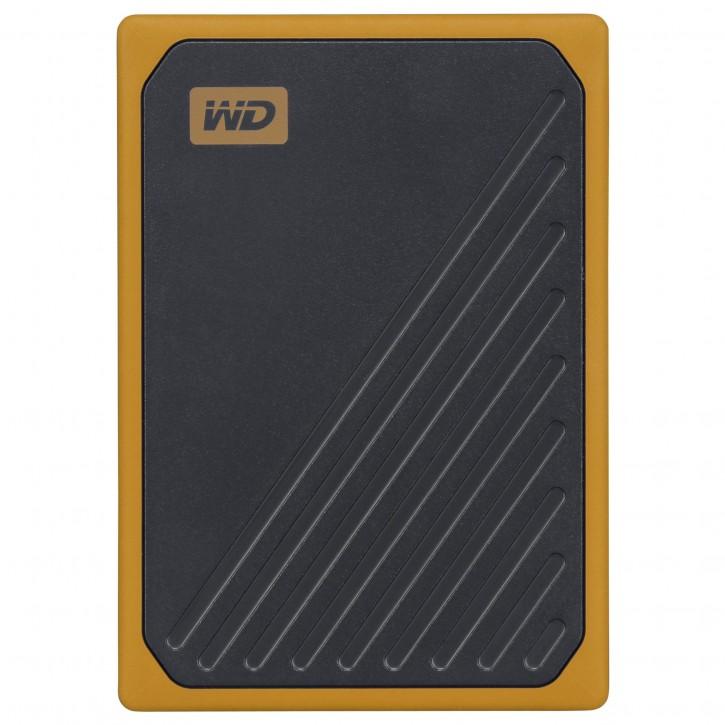 Western Digital MyPassp.Go 500GB Black w/Amber WDBMCG5000AYT-WESN