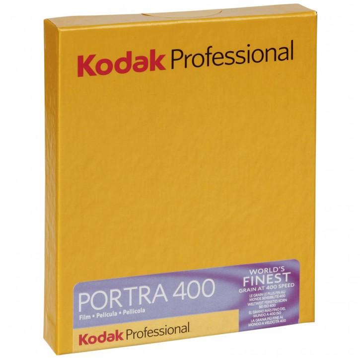 "1 Kodak Portra 400      4x5"" 10 Blatt"