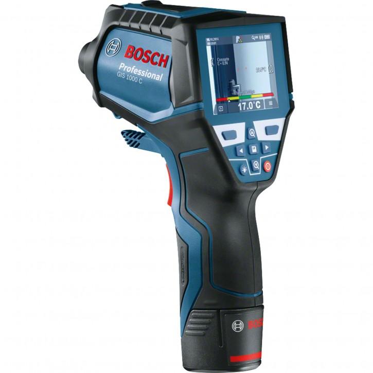 Bosch GIS 1000 C inkl Adapter & 4x AA Batterie Akku-Messgerät