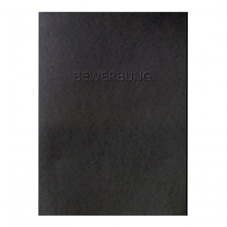 Walther Bewerbungsmappe schwarz inkl. Kuvert      BW100B