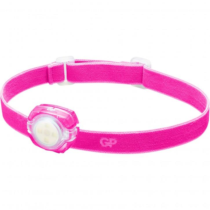 GP Stirnlampe CH31      40 Lumen 2 x CR 2025 pink 260GPACTCH31002
