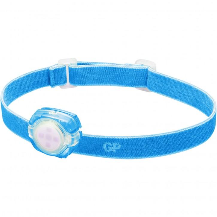 GP Stirnlampe CH31      40 Lumen 2 x CR 2025 blau 260GPACTCH31003