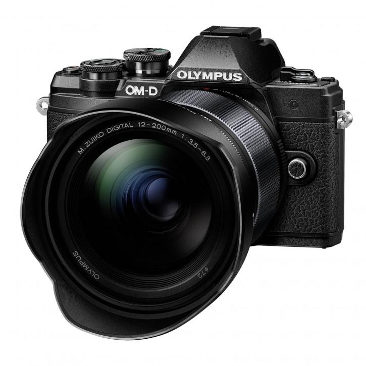 Olympus E-M10 Mark III 12-200 KIT schwarz