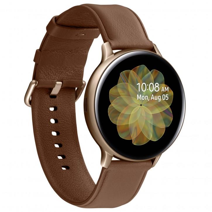 Samsung Galaxy Watch Active2 Stainless Steel 44mm LTE Gold