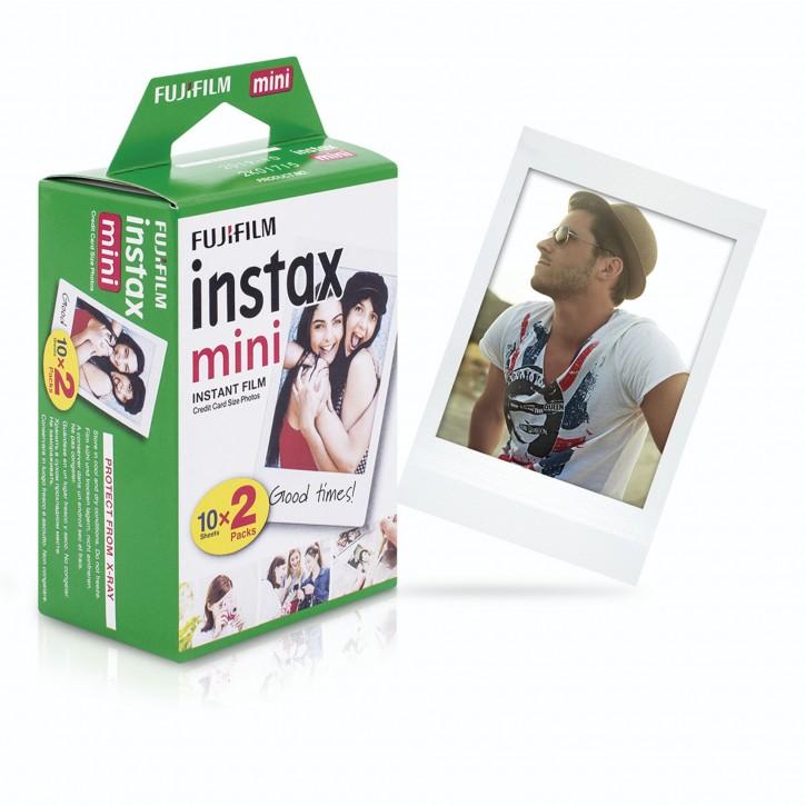 1x2 Fujifilm instax mini Film white frame