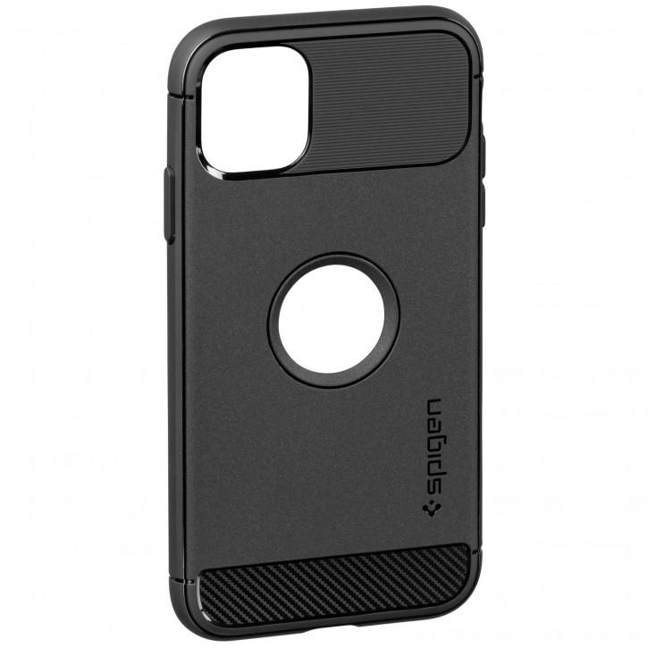 Spigen Rugged Armor iPhone 11 matt black