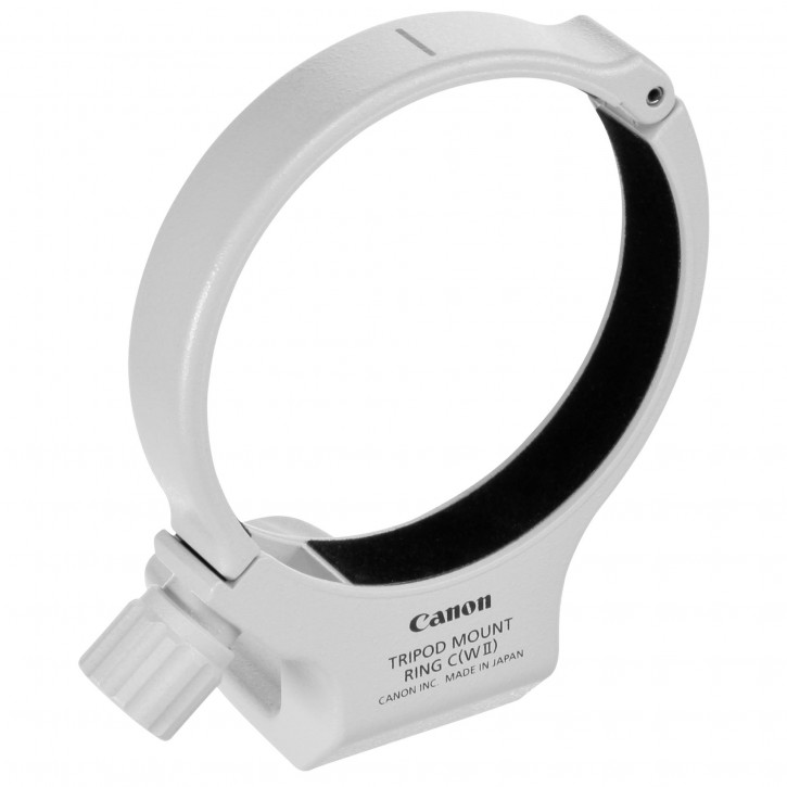 Canon Tripod Mount Ring C WII Adapter weiß