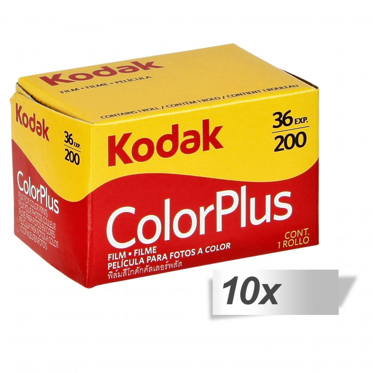 10 Kodak Color plus 200   135/36
