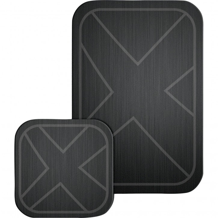 Xlayer magfix Metallplatten 2er Pack black