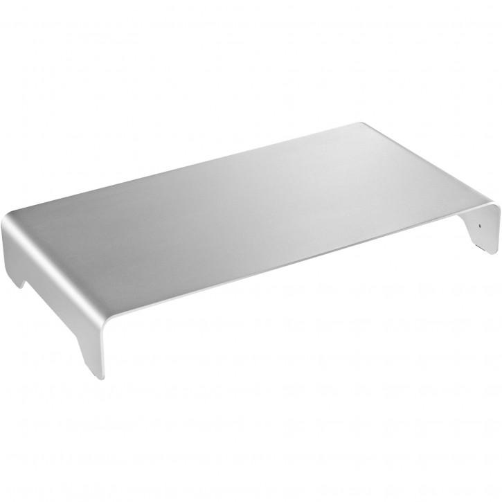 DIGITUS Monitorerhöhung Aluminium Silber
