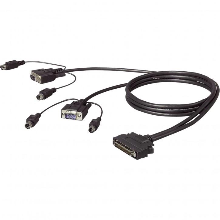 Belkin OmniView Dual-Port PS2 Kabel 3,0 m