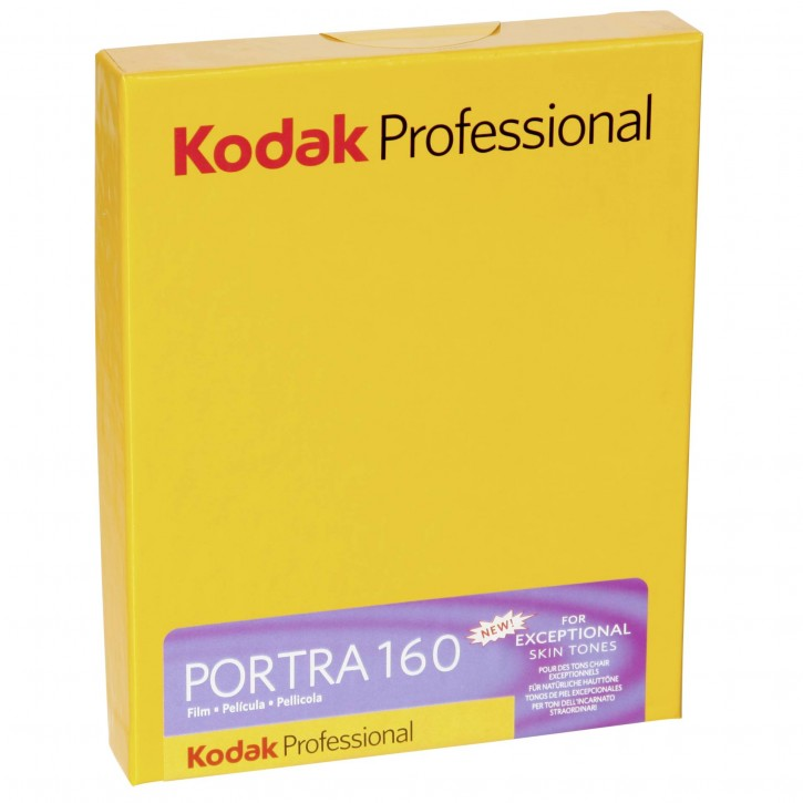 1 Kodak Portra 160      4x5 10 Blatt