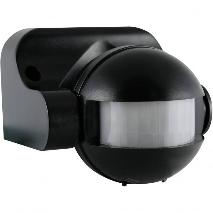 REV Bewegungsmelder 180° schwarz